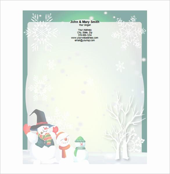 Free Printable Christmas Stationery Templates Lovely 25 Christmas Stationery Templates Free Psd Eps Ai