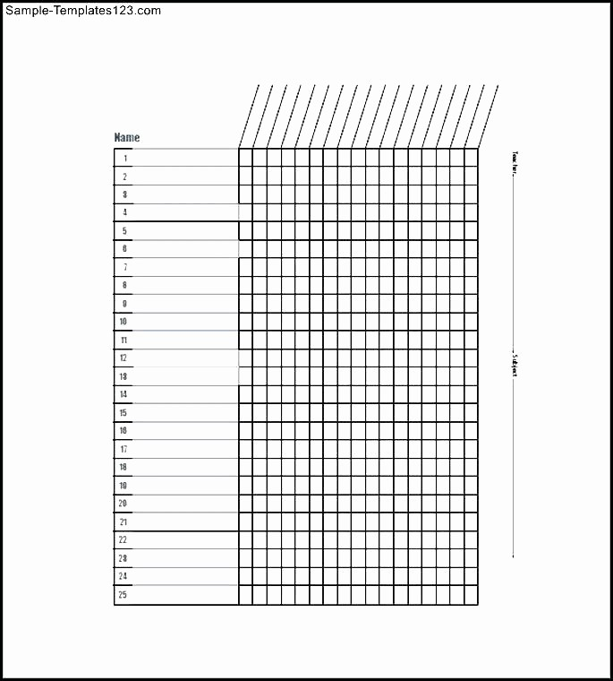 Free Printable Class Roster Template Best Of Blank Class List Template – Azserverfo