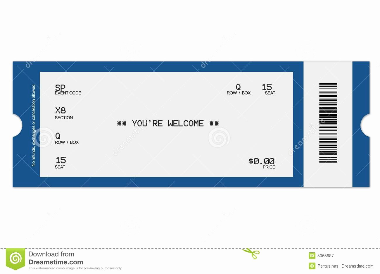 Free Printable Concert Ticket Template Best Of 8 Best Of Football Ticket Templates Blank Printable