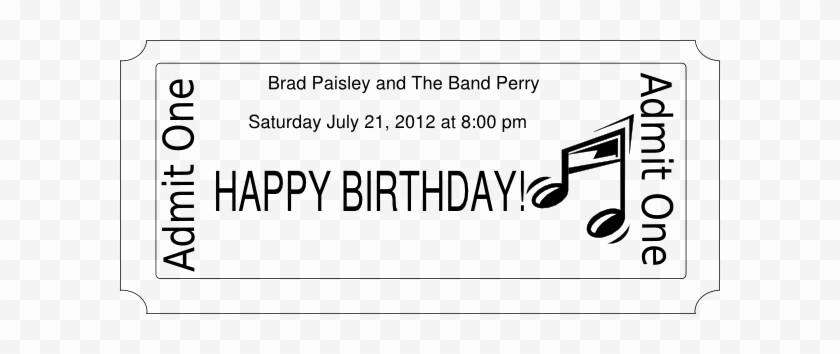Free Printable Concert Ticket Template Elegant Concert Ticket Template Free Printable Free Transparent