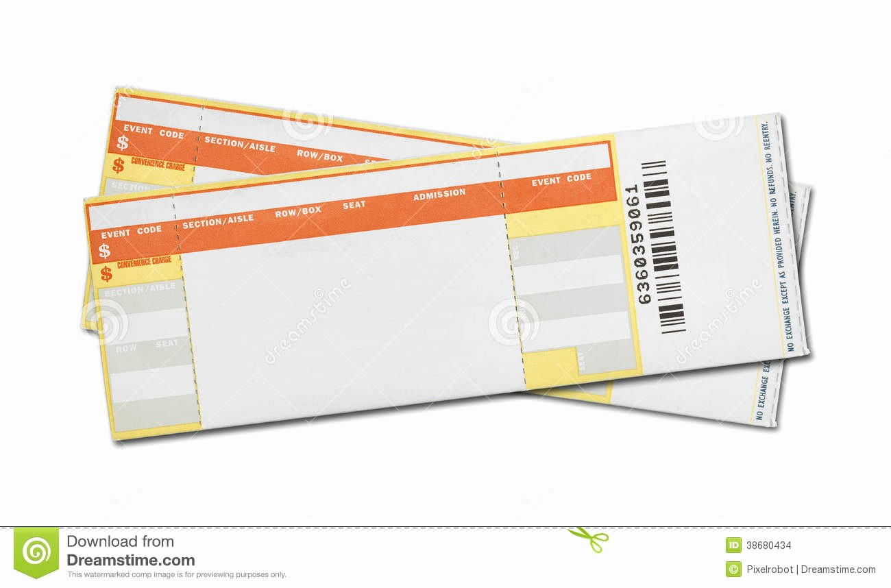 Free Printable Concert Ticket Template Fresh 7 Best Of Blank Concert Ticket Template Printable