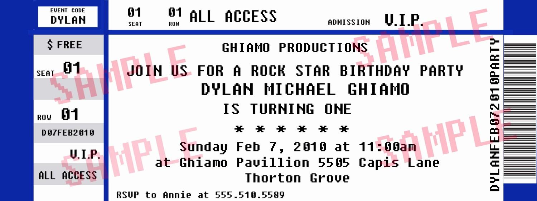 Free Printable Concert Ticket Template Luxury 26 Cool Concert Ticket Template Examples for Your event