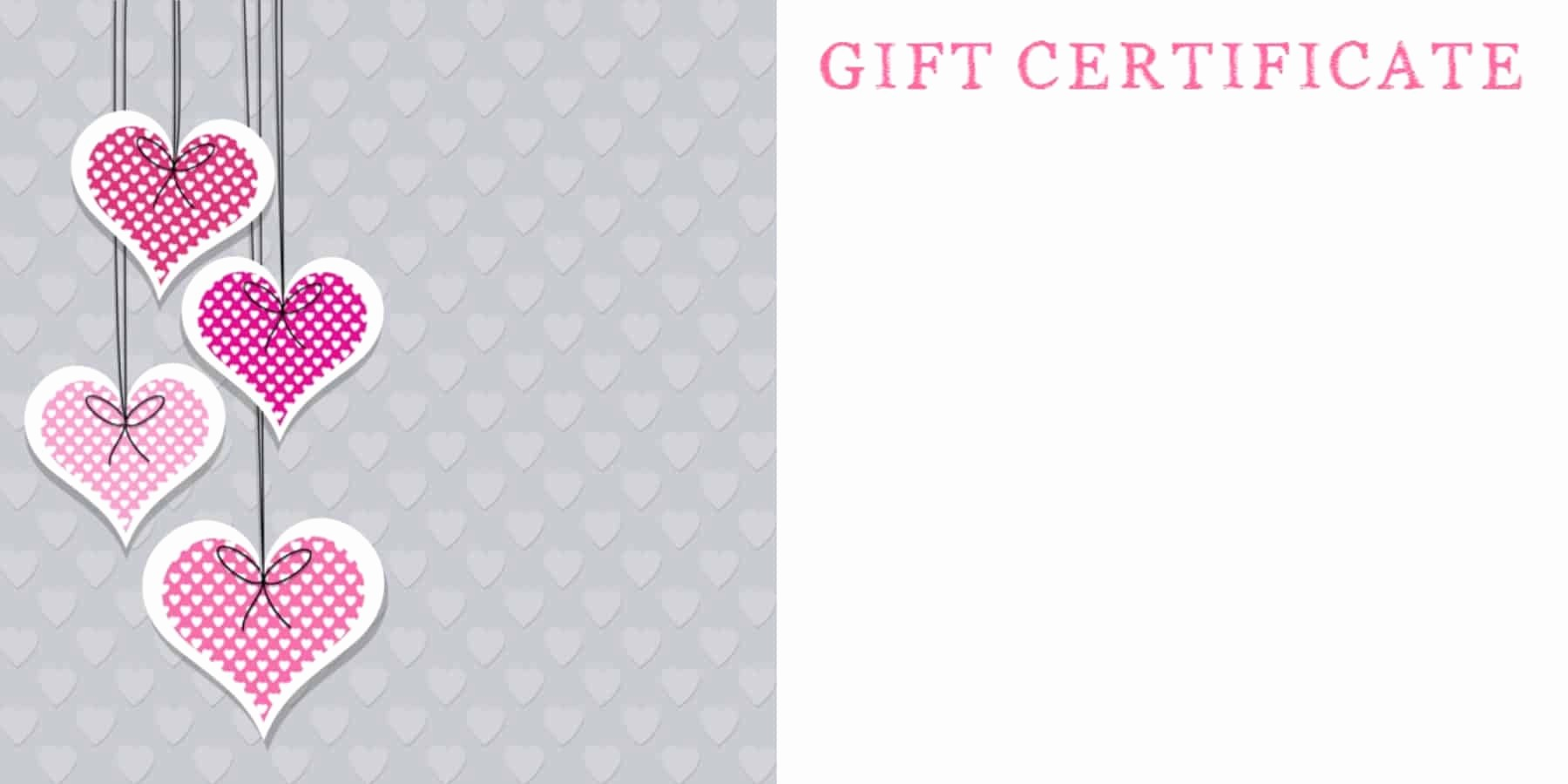 Free Printable Customizable Gift Certificates Best Of Anniversary Gift Certificate Templates