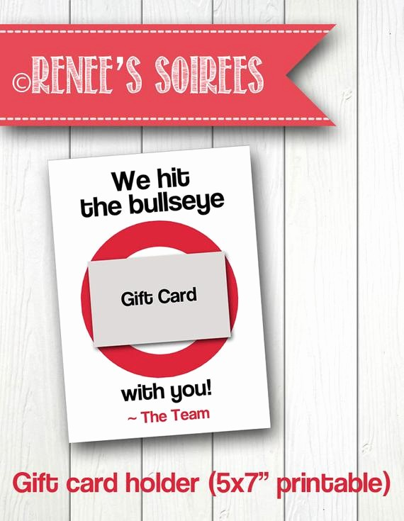 Free Printable Customizable Gift Certificates Fresh Personalized Printable Gift Card Holder for Teacher