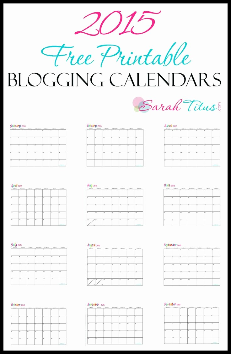 Free Printable Daily Calendar 2015 Awesome 111 Best Calendars Images On Pinterest