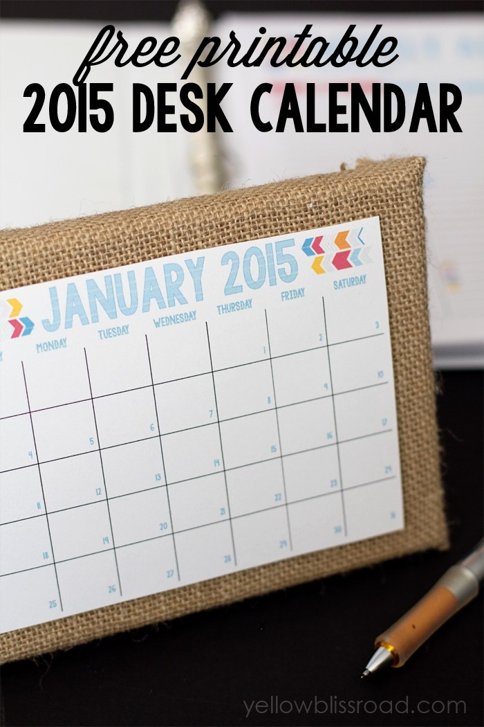 Free Printable Daily Calendar 2015 Best Of 2015 Blog Planner Daily Planner and Menu Planner Yellow