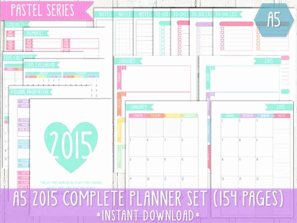Free Printable Daily Calendar 2015 Fresh 9 Best Of Cute Printable 2015 Planner Free