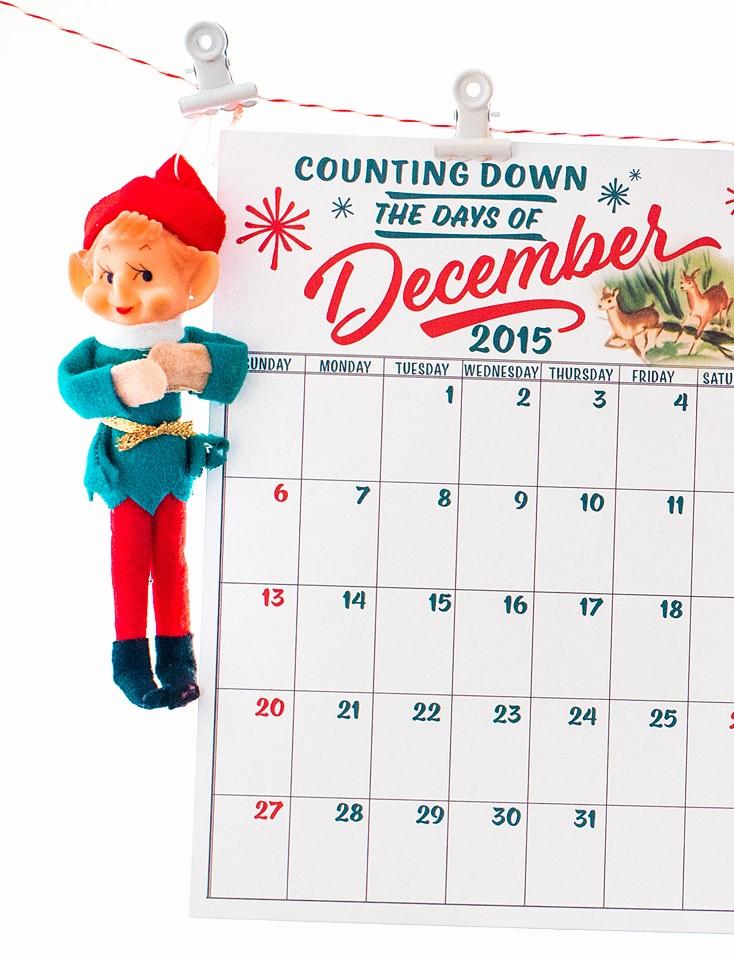 Free Printable Daily Calendar 2015 Inspirational Free December Daily Calendar Printables Stitch In Time