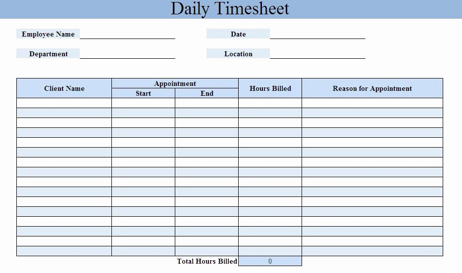 Free Printable Daily Time Sheets Elegant Daily Time Sheet Printable Printable 360 Degree