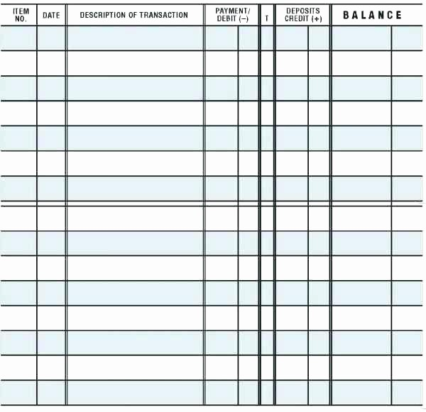 Free Printable Debit Card Register New Business Check Template New Free Printable Checkbook