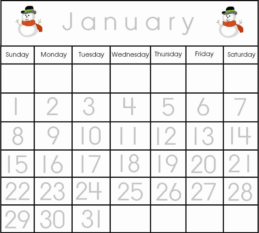 Free Printable Editable Calendar 2016 Lovely 8 Best Of Printable Preschool Calendars 2016