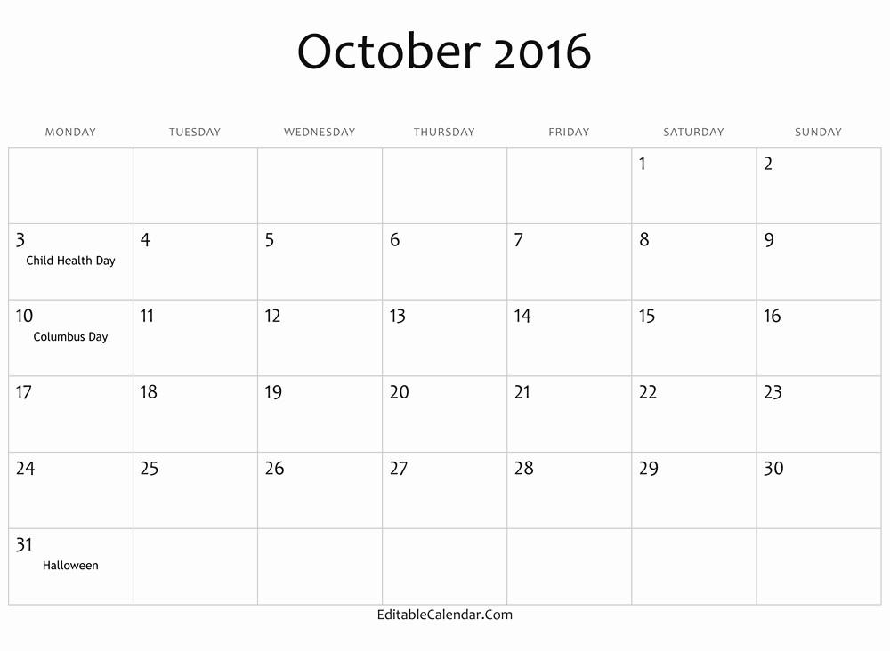 "Free Printable Editable Calendar 2016 Lovely Search Results for ""free Cute Editable Calendar 2016"