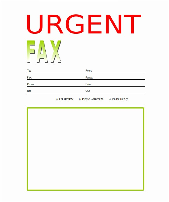 Free Printable Fax Cover Page New 9 Printable Fax Cover Sheets Free Word Pdf Documents