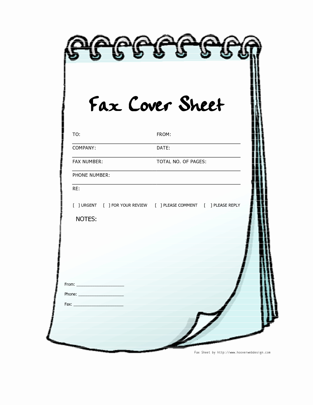 Free Printable Fax Cover Page New Free Printable Fax Cover Sheets