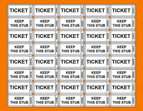 Free Printable Fundraiser Ticket Template Beautiful 3 Printable Raffle Ticket Template