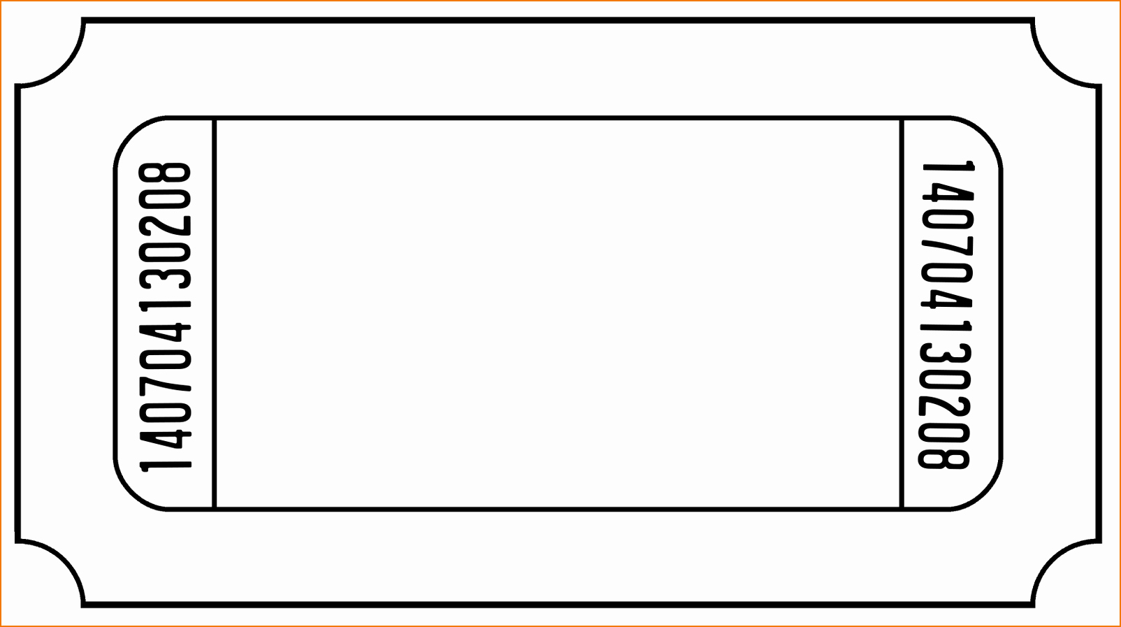 Free Printable Fundraiser Ticket Template Best Of 6 Ticket Templates