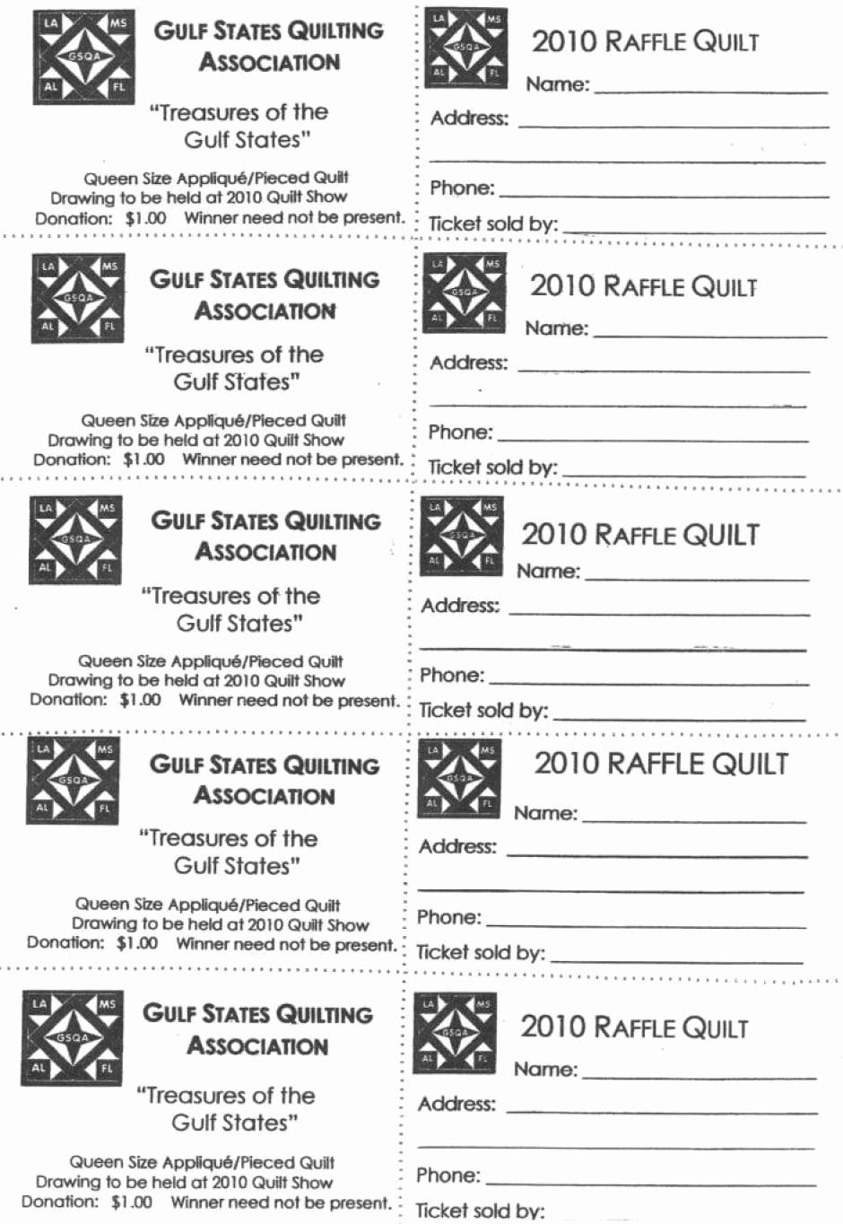 Free Printable Fundraiser Ticket Template Elegant 7 Raffle Ticket Templates Word Excel Pdf formats