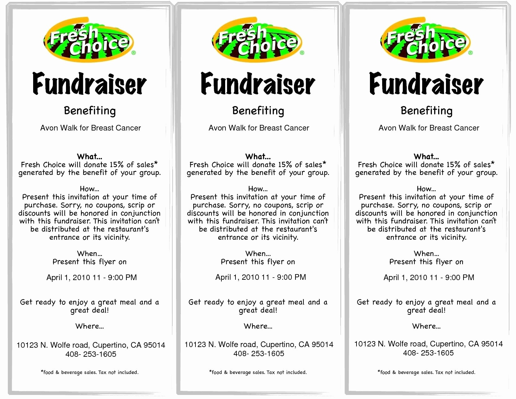 Free Printable Fundraiser Ticket Template Unique Fundraiser Ticket Template Free Download