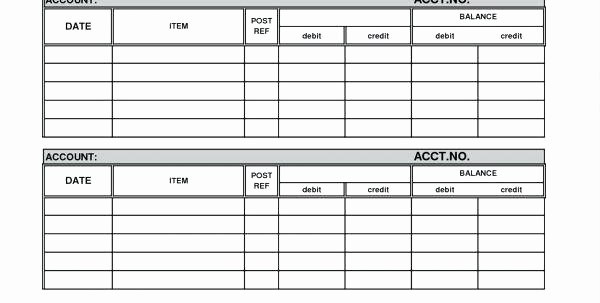 Free Printable General Ledger Template Beautiful Free Printable General Ledger forms Template Excel Petty