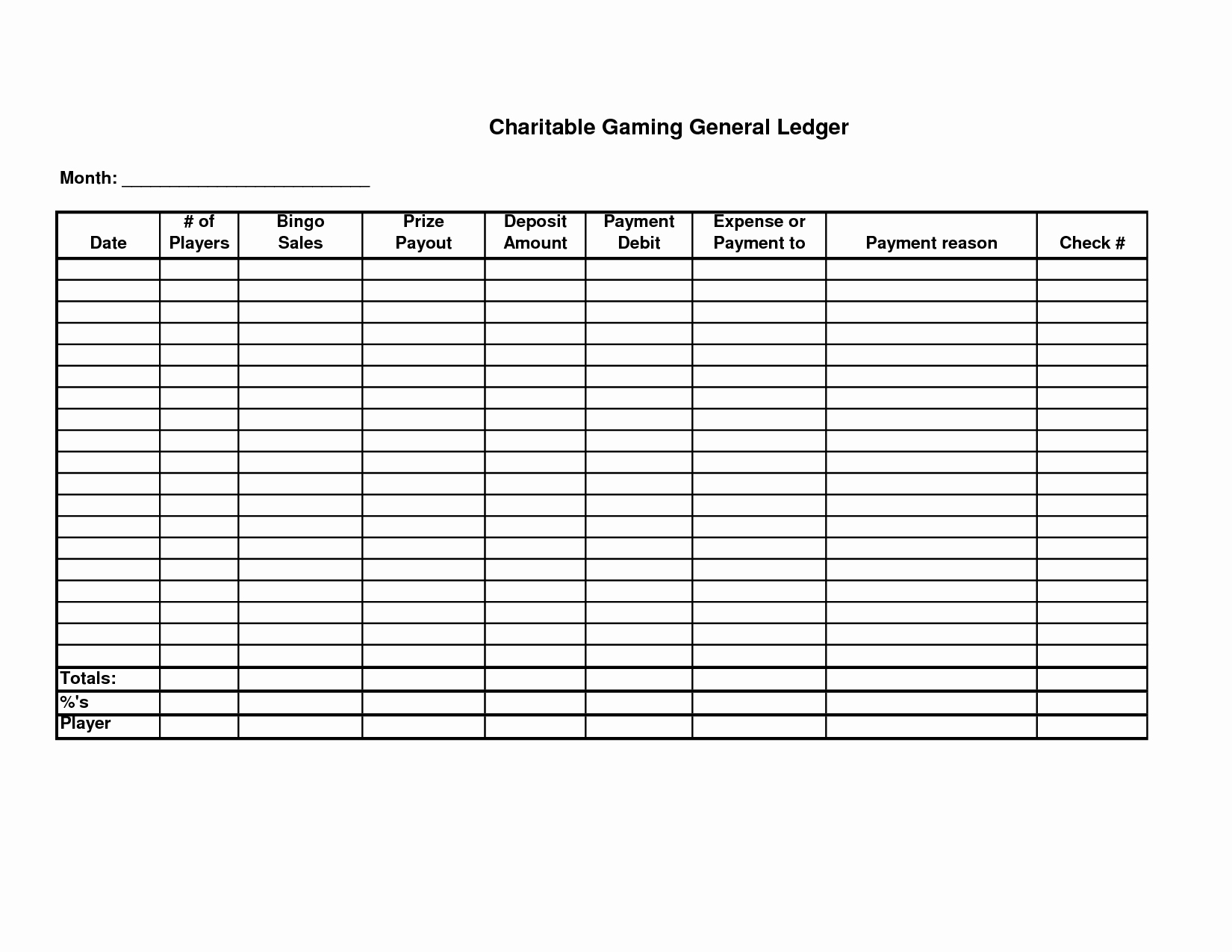 Free Printable General Ledger Template Lovely 5 Best Of Free Printable Ledger Balance Sheet