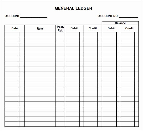 Free Printable General Ledger Template Luxury Freemium Templates Page 3 Of 101 the Best Printable