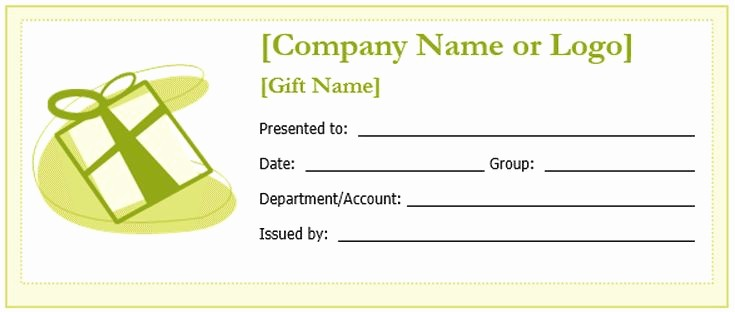 Free Printable Gift Card Template Beautiful Create A Gift Certificate with these Free Microsoft Word