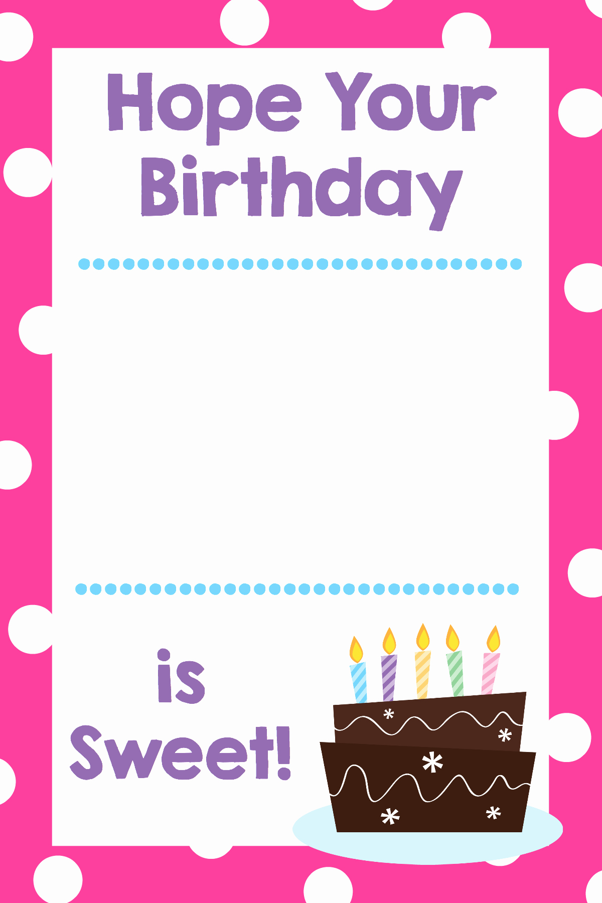Free Printable Gift Cards Online Inspirational Printable Birthday Gift Card Holders Crazy Little Projects