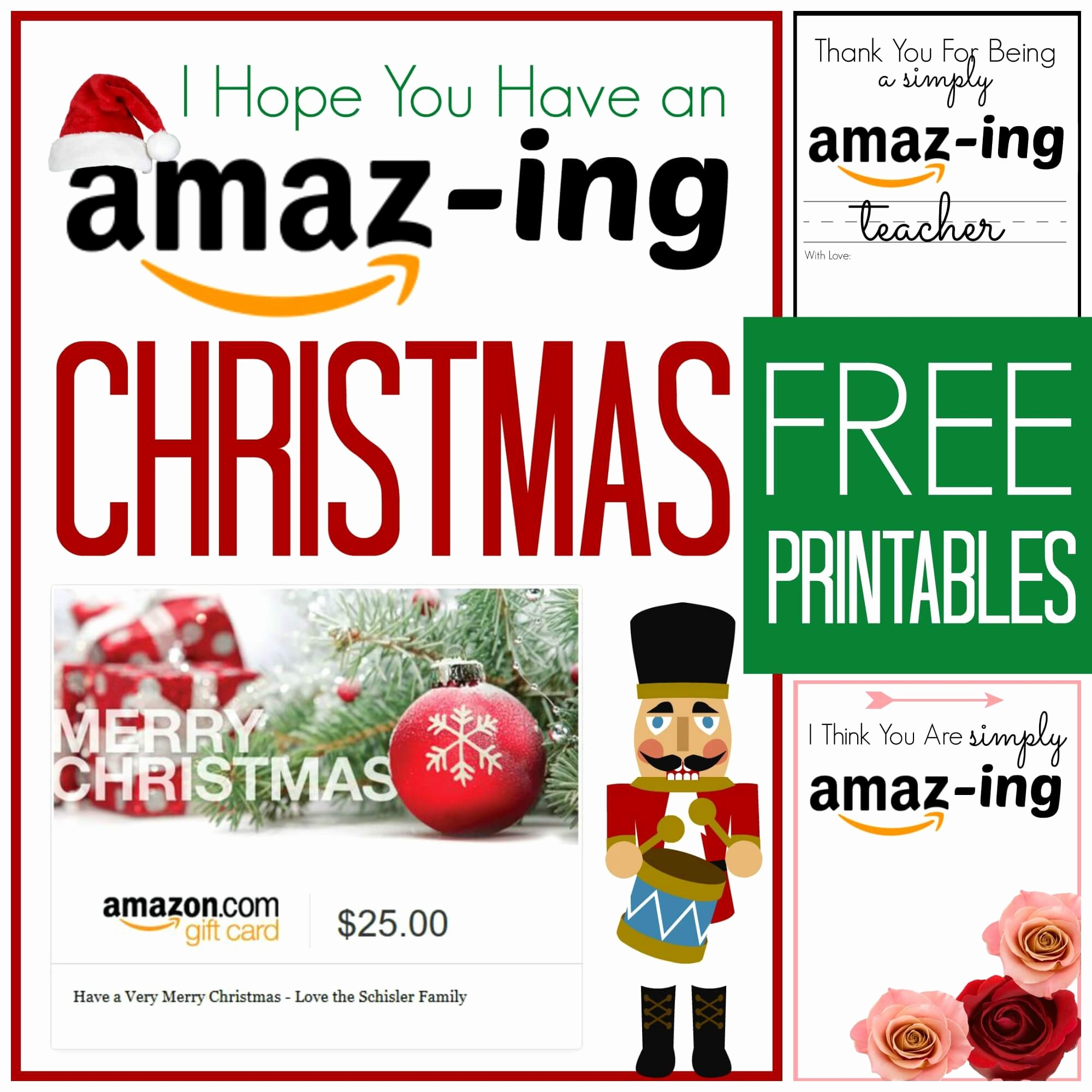 Free Printable Gift Cards Online Luxury Free Amazon Gift Card Printable Cards