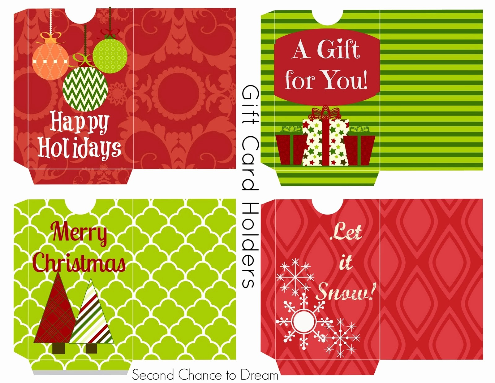 Free Printable Gift Cards Online Luxury Second Chance to Dream Free Printable Gift Tags & Gift