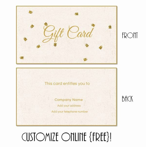 Free Printable Gift Cards Online Unique Best 25 Gift Certificate Templates Ideas On Pinterest