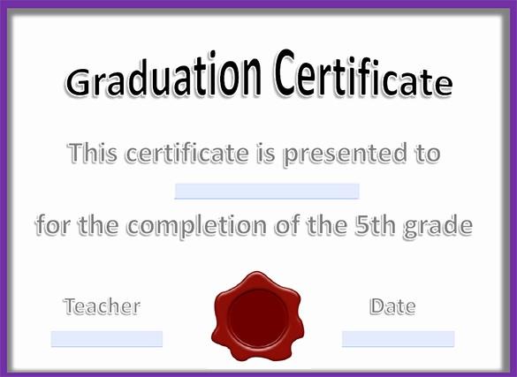 Free Printable Graduation Certificate Templates Beautiful 21 Graduation Certificate Templates Word Pdf Psd Ai