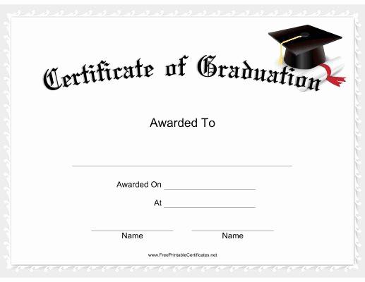 Free Printable Graduation Certificate Templates Beautiful 8 Best Certificates Images On Pinterest