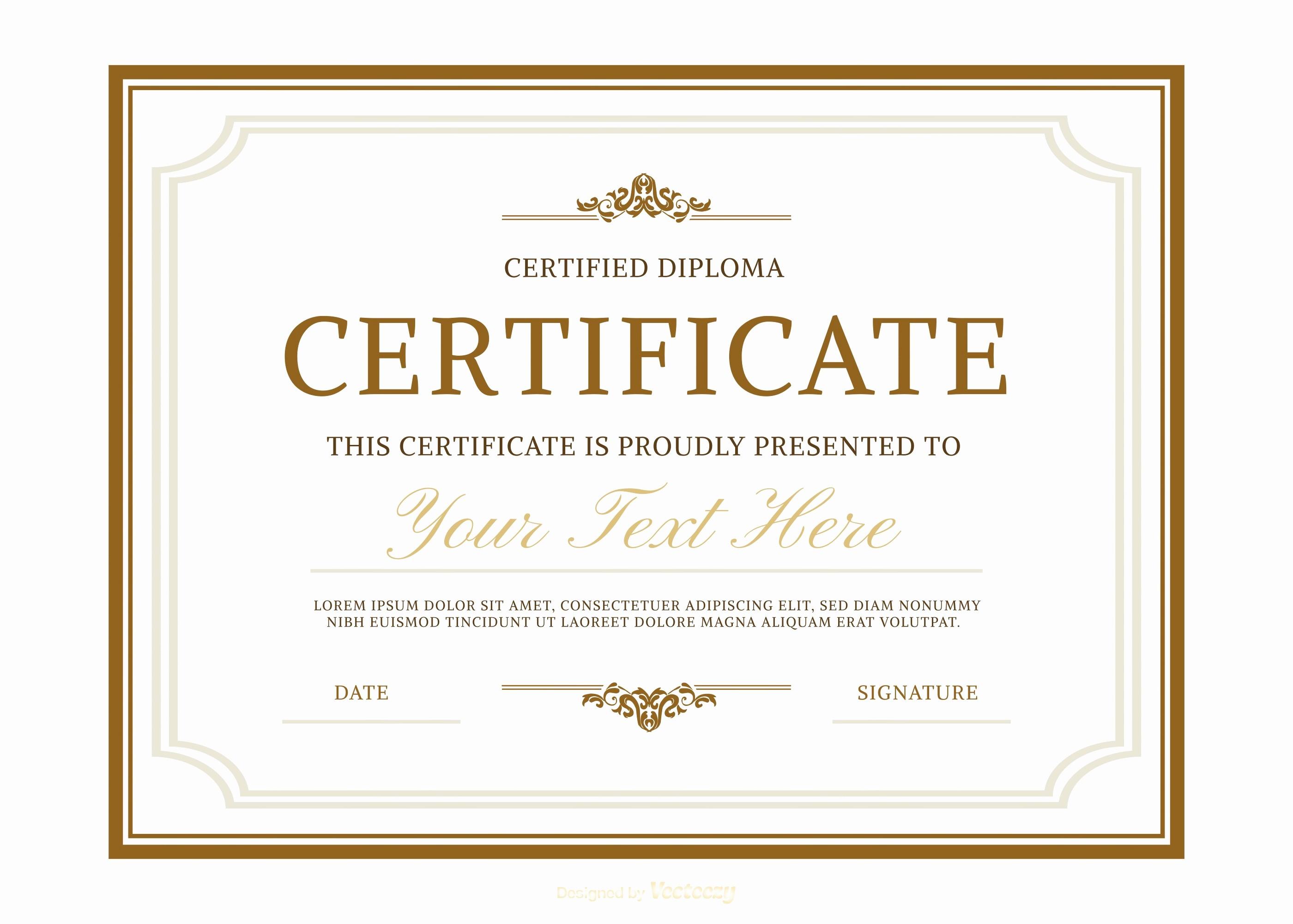 Free Printable Graduation Certificate Templates Fresh Diplomas Free Vector Art 1099 Free Downloads