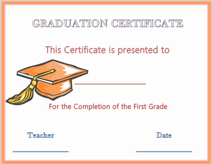 Free Printable Graduation Certificate Templates Lovely 13 Graduation Certificate Templates