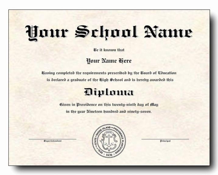 Free Printable Graduation Certificate Templates Luxury High School Diploma Template Printable Certificate
