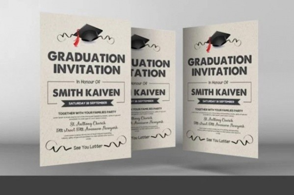 Free Printable Graduation Invitations 2016 Awesome 18 Free Graduation Invitations Psd Ai Illustrator Download
