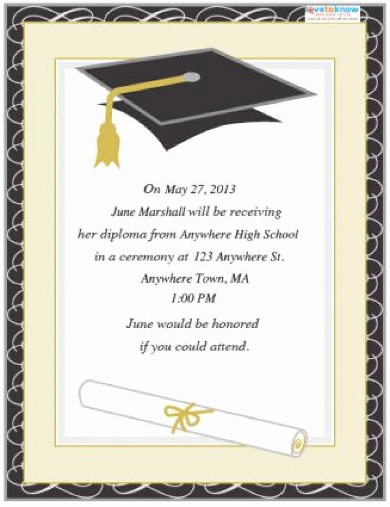 Free Printable Graduation Invitations 2016 Inspirational Graduation Invitations Templates Free Download