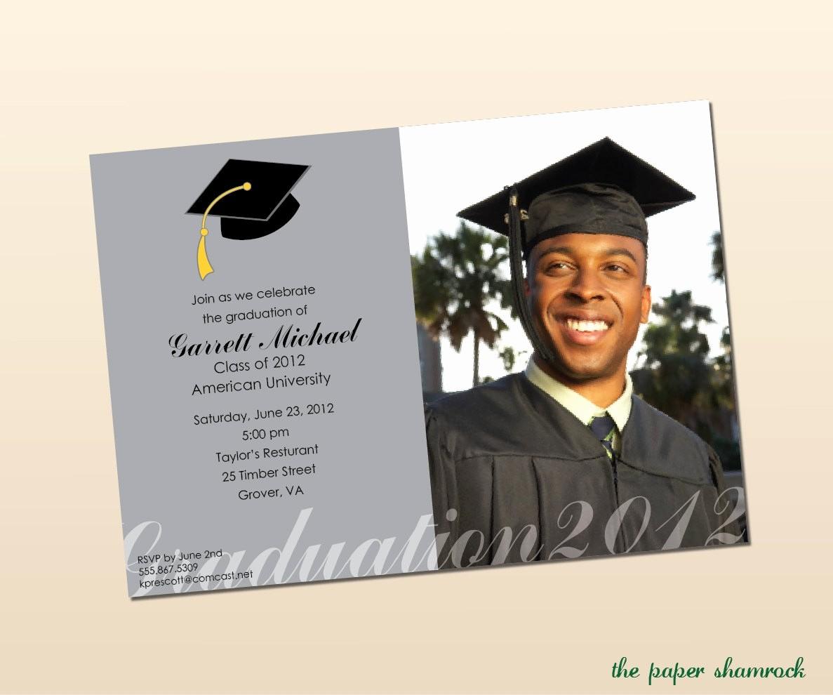Free Printable Graduation Invitations 2016 Lovely Free Graduation Invitation Templates for Word