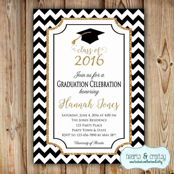 Free Printable Graduation Invitations 2016 Lovely Graduation Party Invitation College Graduation