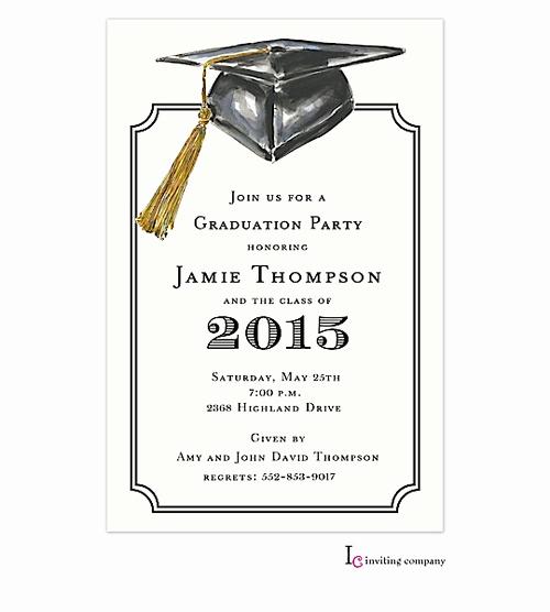 Free Printable Graduation Invitations 2016 Luxury 7 Best Of Graduation Party Invitations Free