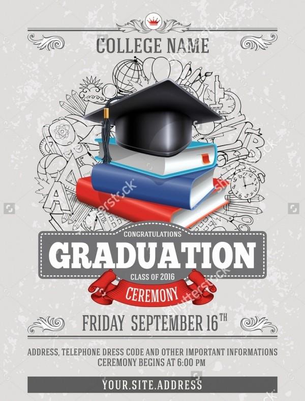Free Printable Graduation Invitations 2016 New 21 Graduation Party Invitations Psd Ai Illustrator