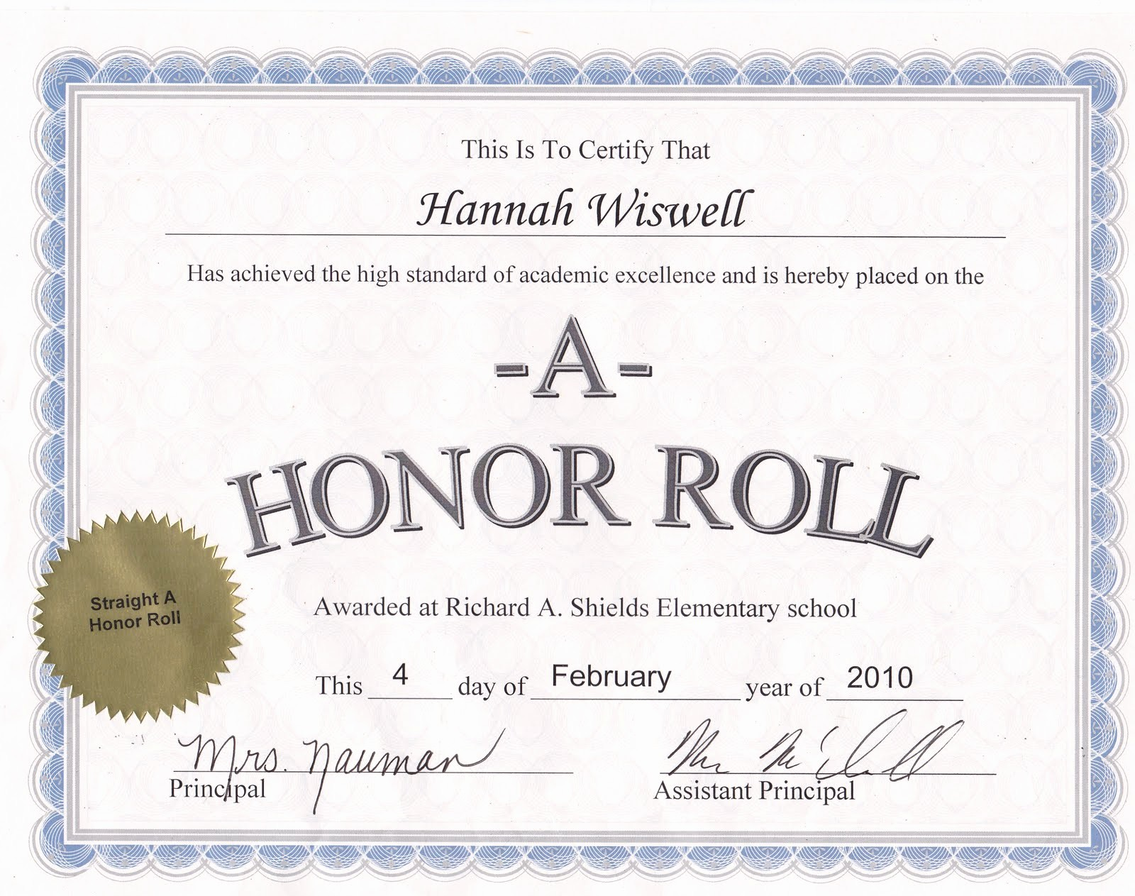 Free Printable Honor Roll Certificates Luxury Honor Roll Funny Quotes Quotesgram