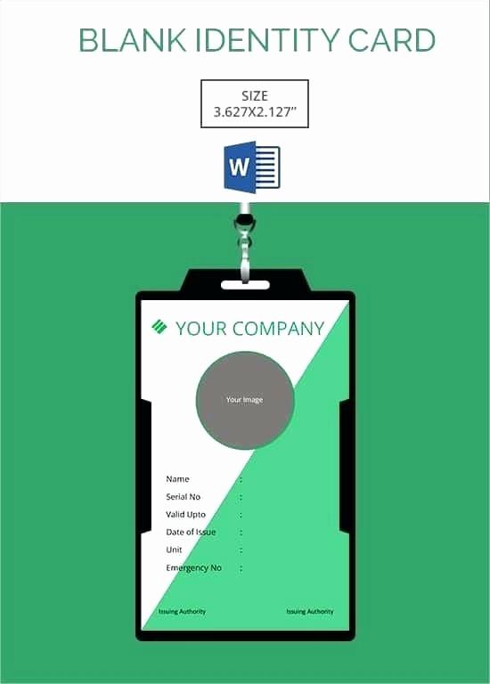 Free Printable Id Badge Template Beautiful Membership Id Card Template Free – Spitznasfo