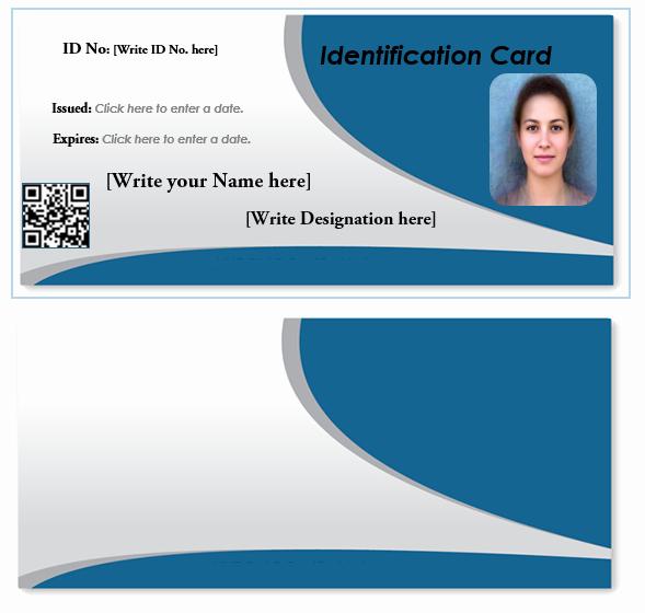 Free Printable Id Card Template Beautiful Id Card Template