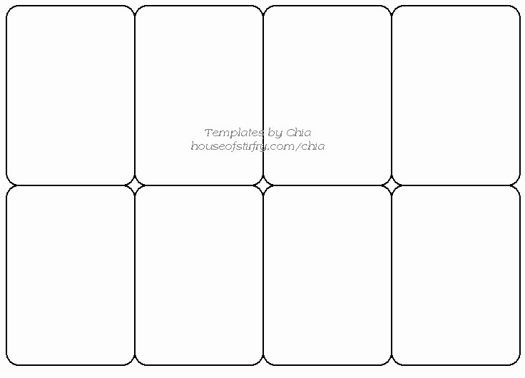 Free Printable Id Card Template Elegant 8 Best Of Blank Playing Card Printable Template for