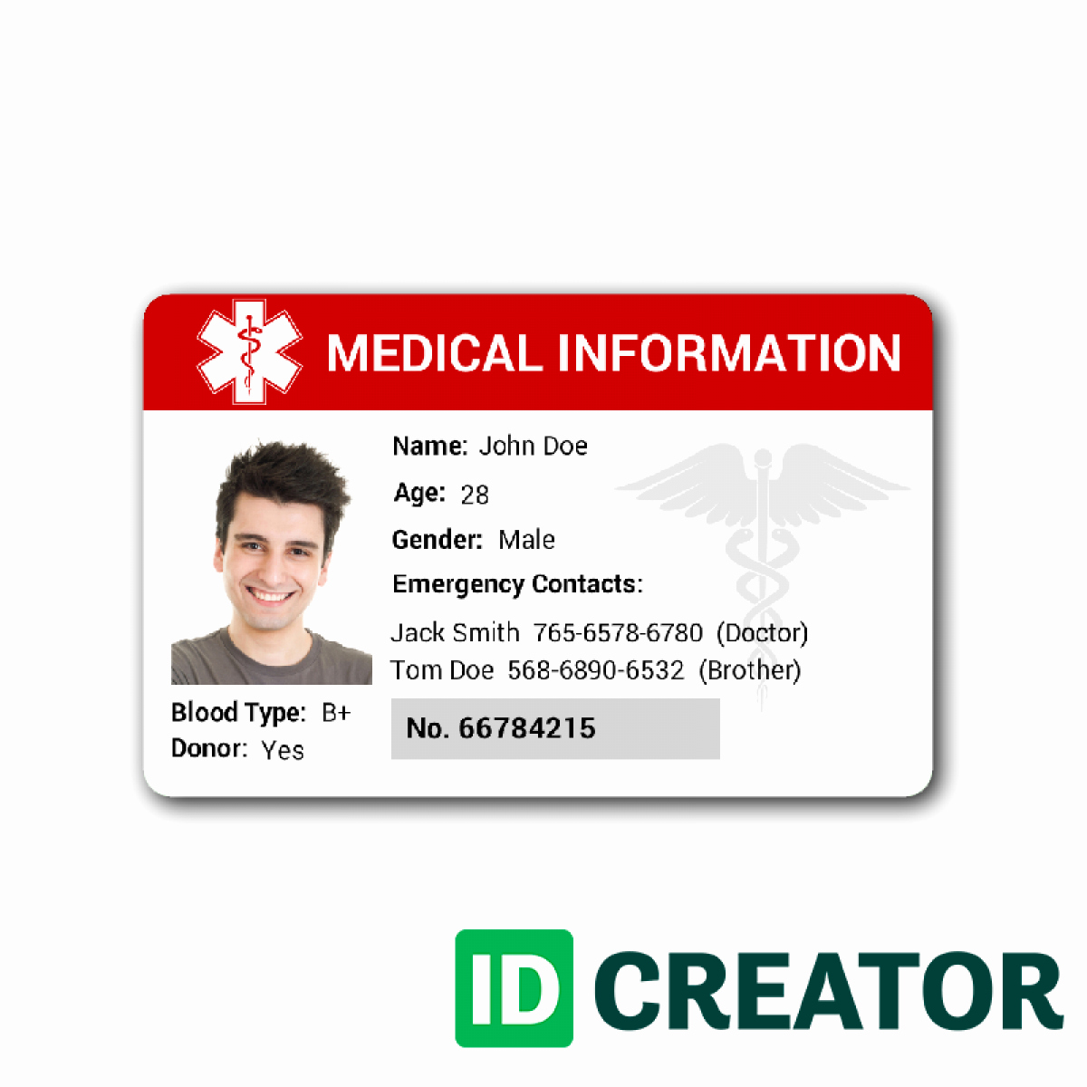 Free Printable Id Card Template Inspirational Id Card Template
