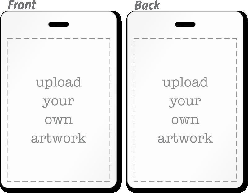 Free Printable Id Card Template Lovely Custom Bi Fold Badges