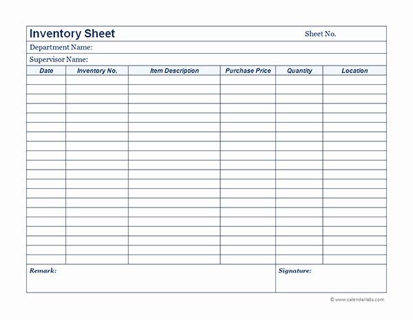 Free Printable Inventory Sheets Pdf Elegant Business Inventory 01 Free Printable Templates