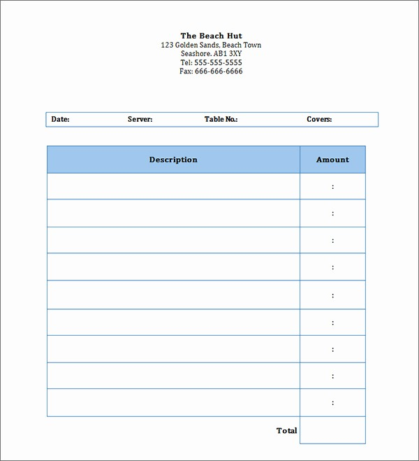 Free Printable Invoice Templates Word Fresh Personal Invoice Template Word