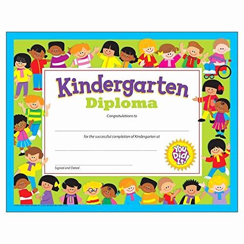 Free Printable Kindergarten Certificate Templates Beautiful Kindergarten Graduation Certificates Amazon